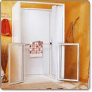 cabine de douche personnes à mobilité réduite