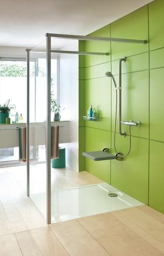 Douche personne mobilit r duite cabines de douche pour pmr - Cabine de douche pour personne a mobilite reduite ...