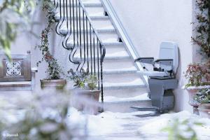 Monte escaliers d'extérieur